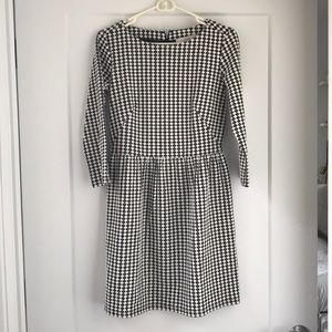NWT Loft black and white dress size 0